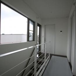 ボックス×3 (2階廊下)