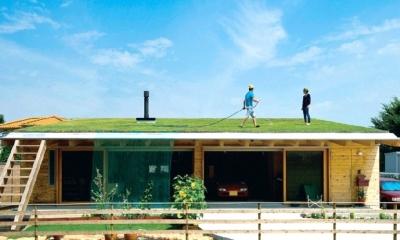 土間リビングで愛車と暮らす家|BEAT HOUSE