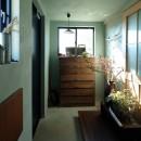 エトウゴウ建築設計室の住宅事例「今治の家 色と素材が結びつくパッチワークみたいな家」