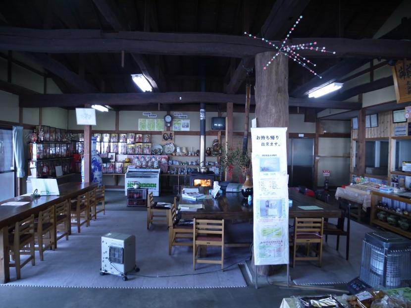 御前岩物産センター改修の部屋 お土産売り場(ビフォー)1