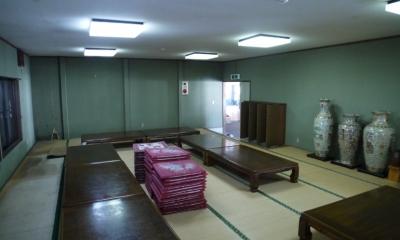 御前岩物産センター改修 (座敷(ビフォー))