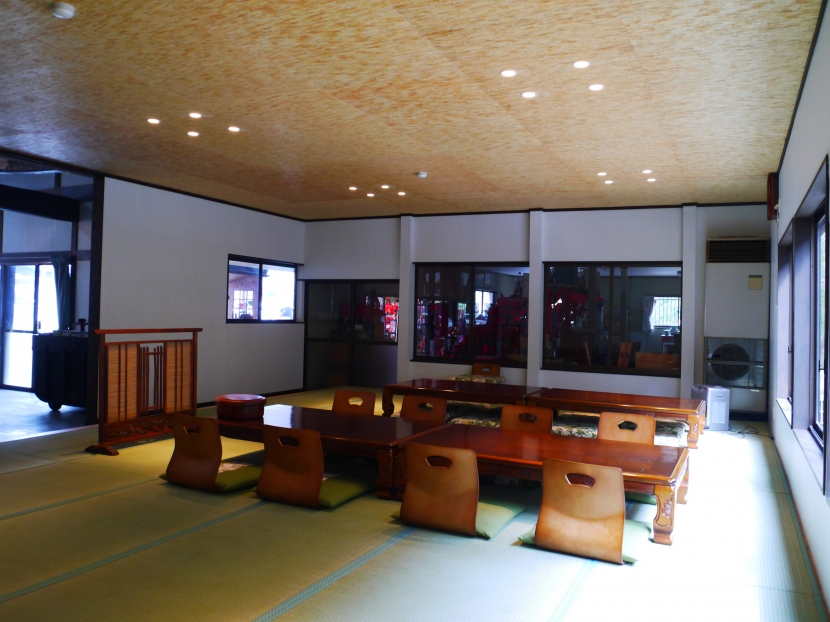 御前岩物産センター改修の部屋 座敷(アフター)1