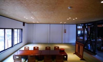 御前岩物産センター改修 (座敷(アフター)2)