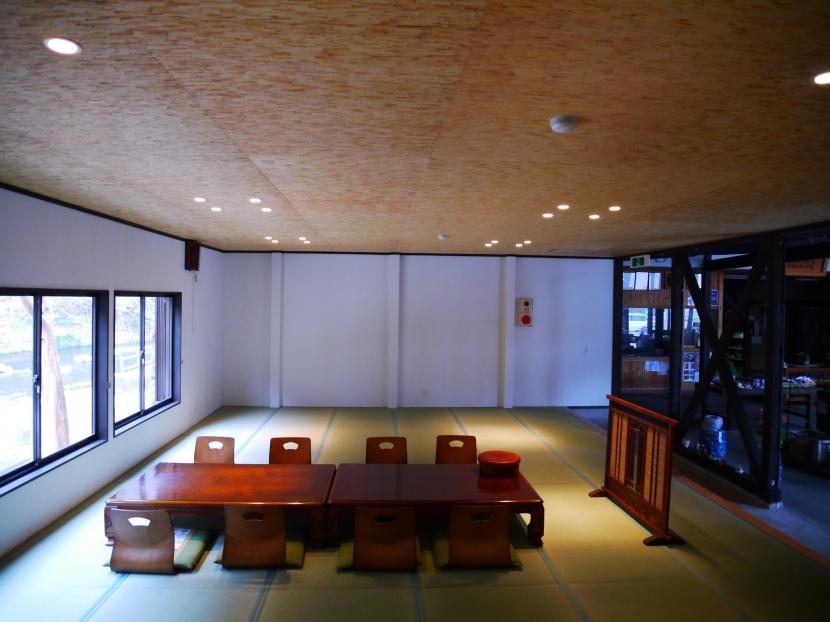 御前岩物産センター改修の部屋 座敷(アフター)2