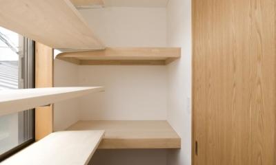 S邸・自然素材を用いて、オリジナリティーのある改修を。 (収納部屋)