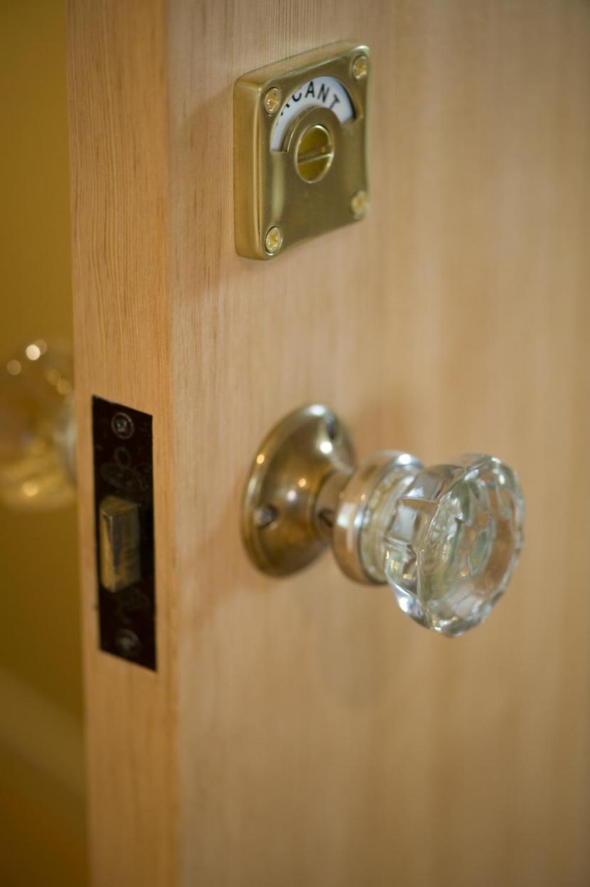 S邸・自然素材を用いて、オリジナリティーのある改修を。の部屋 ドアノブ