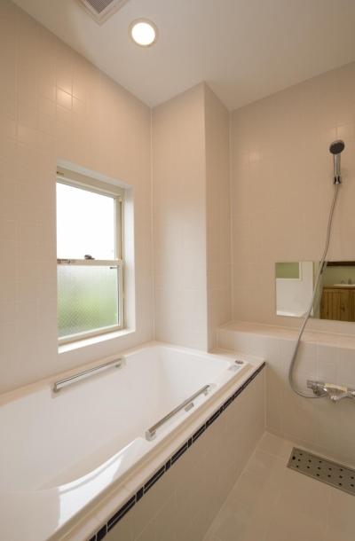 バスルーム (S邸・自然素材を用いて、オリジナリティーのある改修を。)