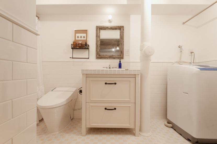 S邸・上品に味わい深く住まうの写真 トイレ(バスルーム)