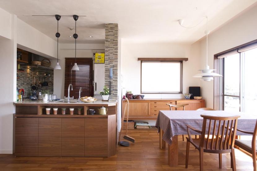 Y邸・自分たちの「好き」をカタチにした住まい (ダイニング・オープンキッチン)
