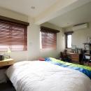 Y邸・自分たちの「好き」をカタチにした住まいの写真 寝室2