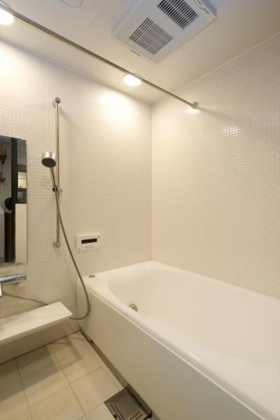 バスルーム (Y邸・自分たちの「好き」をカタチにした住まい)