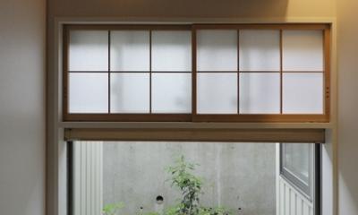 ひかりの架け橋 〜庭と、空と、家族と繋がる、エレガントなインテリア〜 (客間の風景)