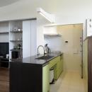 家具としてデザインされたキッチン1