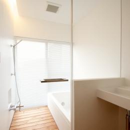 宝塚の住宅 (浴室)