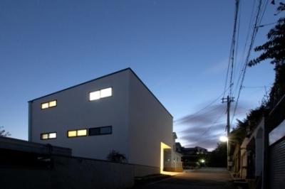 宝塚の住宅 (外観)