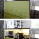 家具としてデザインされたキッチン2
