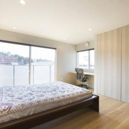 東船橋の家 (寝室1)