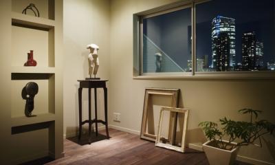 玄関前の予備室|ロフト・アパートメントのように