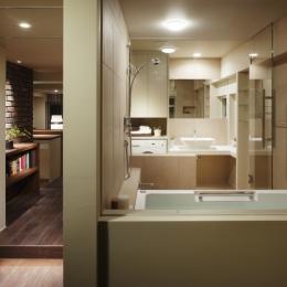 ロフト・アパートメントのように (浴室)