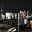 キッチンと黒板