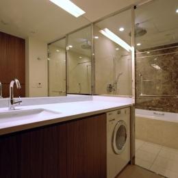 六本木T邸 (洗面・浴室)