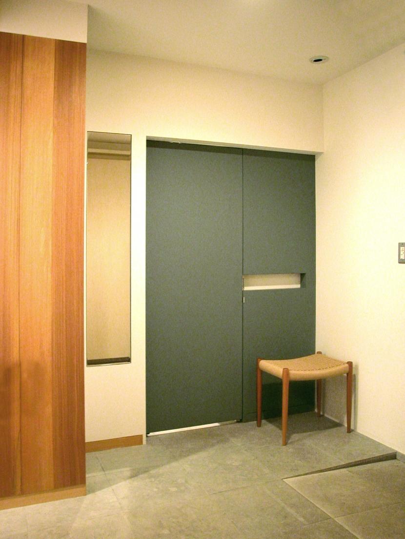 白金台K邸の部屋 玄関