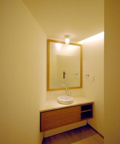 白金台S邸 (来客用トイレ)