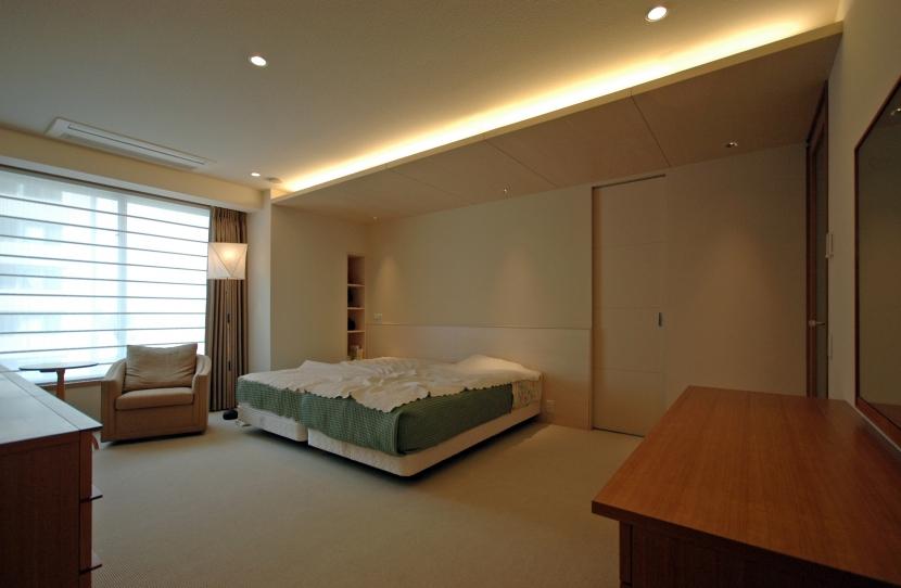 白金台S邸の写真 主寝室