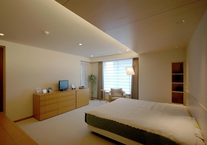 白金台S邸の写真 主寝室2
