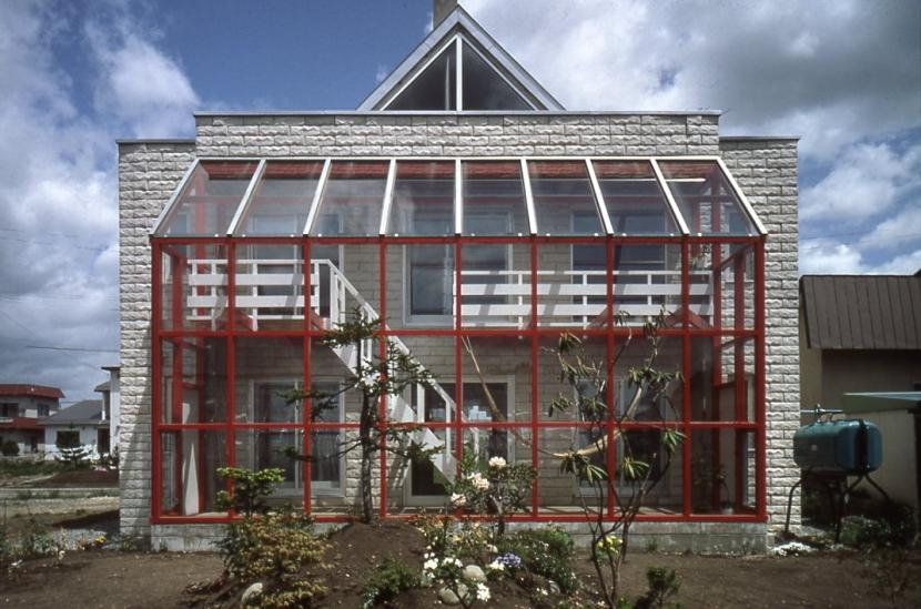 建築家:藤島 喬「白石の家(自邸)」