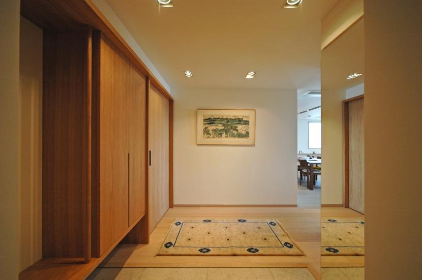 白金台S邸の写真 玄関