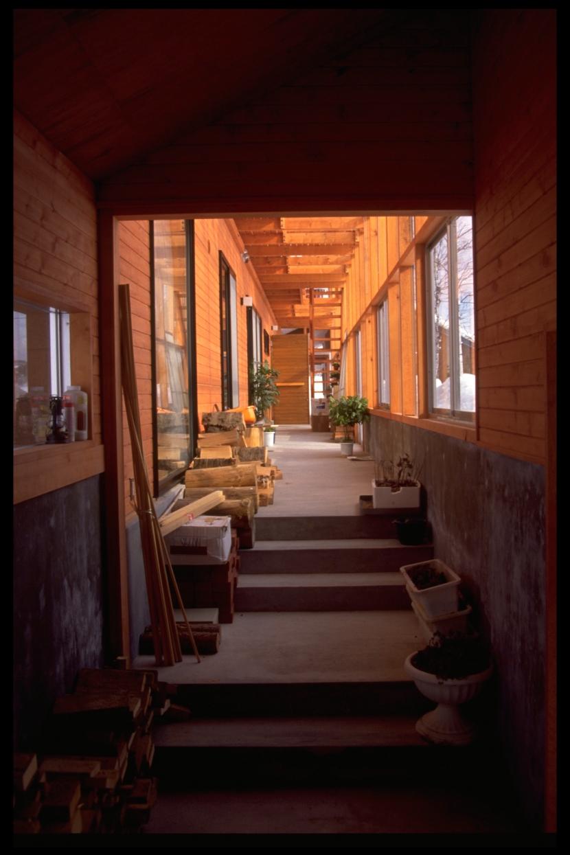 望赤館の部屋 土間
