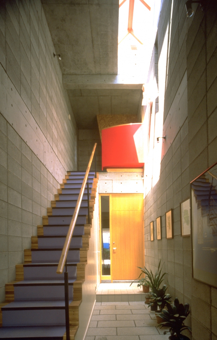 琴懇館の部屋 玄関