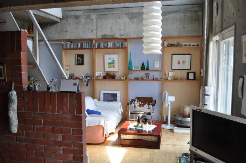 白石の家(自邸)の部屋 リビング2