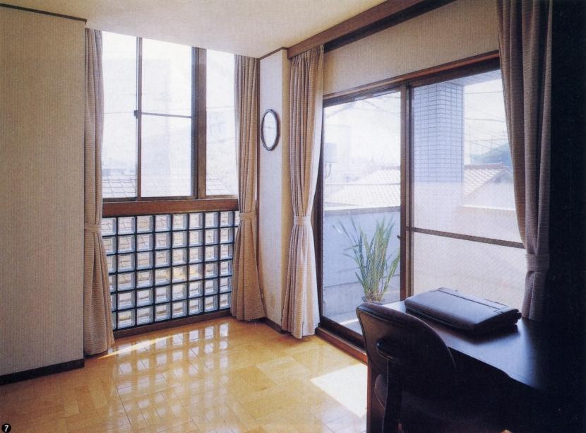 既成市街地の鉄骨3階住宅-K (書斎)