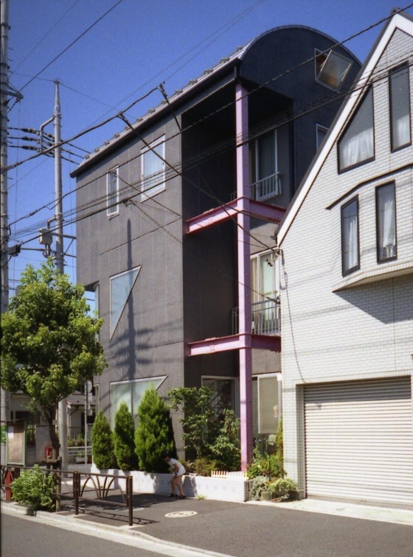都心地の鉄骨3階建て戸建住宅-Nの写真 外観2