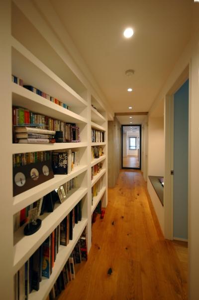 書斎廊下 (杉並区S邸)