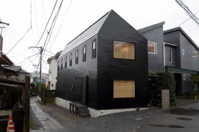 腰越の住宅 (外観)