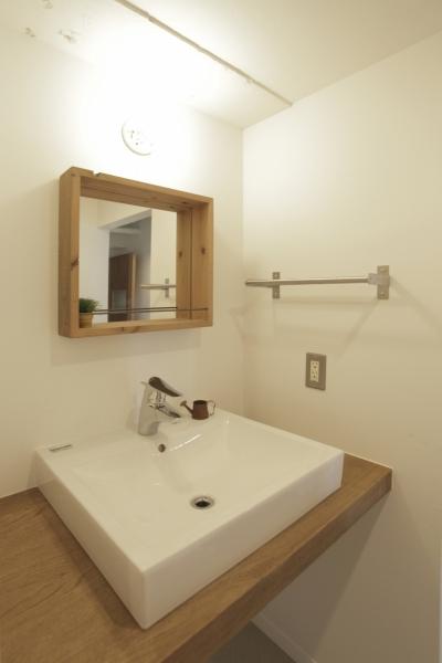 洗面室 (平塚の家)