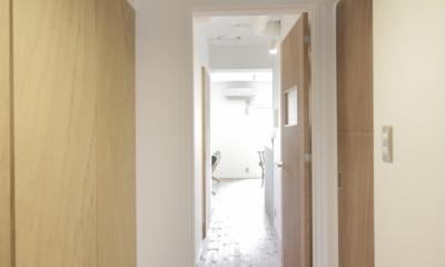 平塚の家 (廊下)