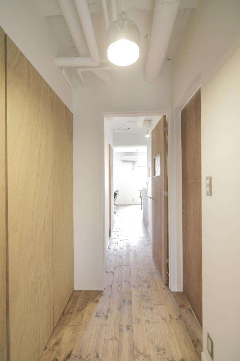 平塚の家の部屋 廊下