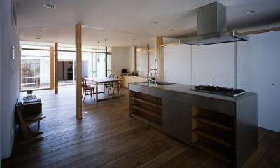 キッチン2|宇佐の家