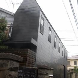 腰越の住宅-外観