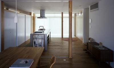 キッチン3|宇佐の家