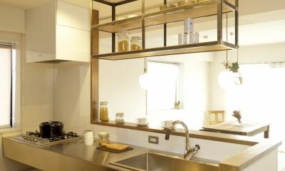 道三町の家 (キッチン)