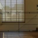 世田谷の家の写真 編み込みスチール手摺