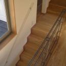 世田谷の家の写真 階段とスチール手摺