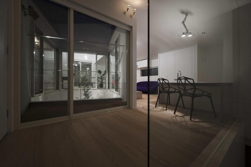 UZU庵の部屋 ダイニングキッチン