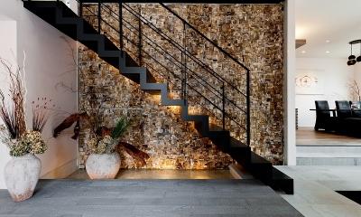 エントランス|自然素材の家 オークラモデル