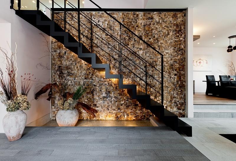 自然素材の家 オークラモデルの部屋 エントランス